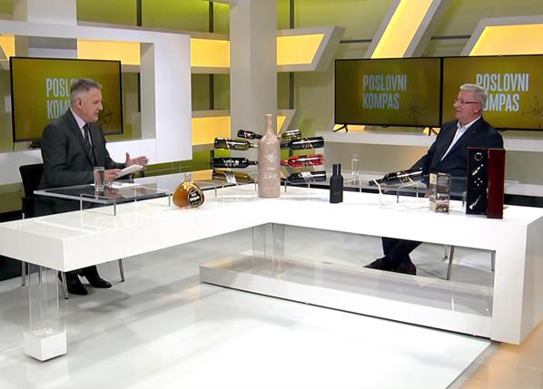 """Gostovanje u emisiji """"Poslovni kompas"""" Naše TV"""